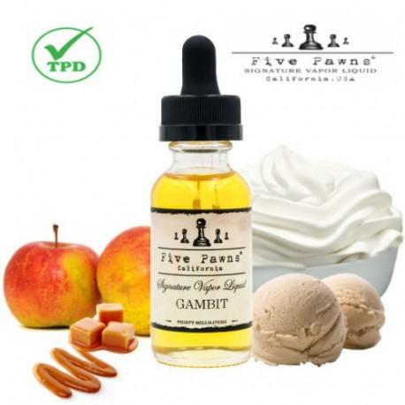 E-líquido Five Pawns Gambit TPD 50ml Sin Nicotina