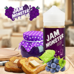 E-líquido Jam Monster Grape TPD 100ml Sin Nicotina