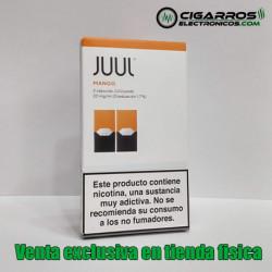 2x Cápsulas JUUL Pods Mango 20mg/ml 0,7ml