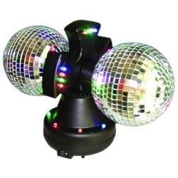 Bola de Discoteca Doble con Espejos