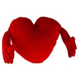 Corazón de Peluche con Brazos (70 cm)