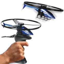Helicóptero con Base Disparo