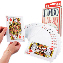 Cartas de Poker Grandes