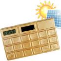 Calculadora Solar Oro