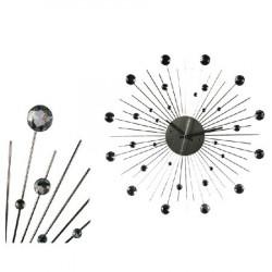 Reloj de Pared Metal y Cristales