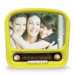 Portafotos de Cristal Nostalgic Radio
