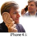 Funda comtible con iPhone Oreja