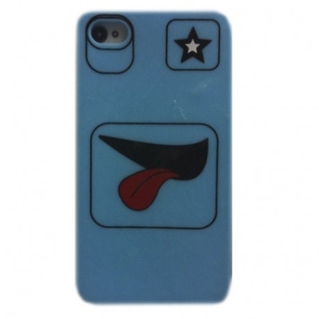 Funda compatible con iphone Silicona Faces