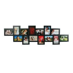 Portafotos Offset de Madera Negra