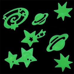 Estrellas y Planetas Fluorescentes