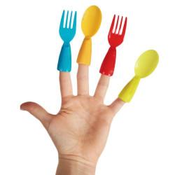 Cubiertos de Plástico Dedo