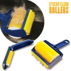 Rodillo Quita Pelusa Sticky Clean Rollers + Rodillo Viaje