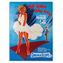 Cuadro Póster de Cine Marilyn Monroe The Seven Year Itch 50 x 70