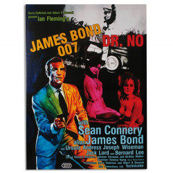 Cuadro Póster de Cine James Bond 007 Dr.No 50 x 70