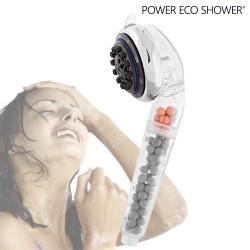 Ducha Multifunción Power Eco Shower con Turmalina y Germanio