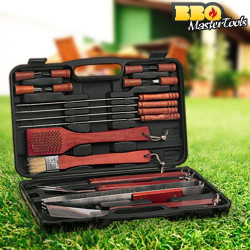 Maletín Utensilios Barbacoa 18 pcs BBQ Master Tools
