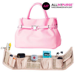 Organizador de Bolsos con Luz All in 1 Purse
