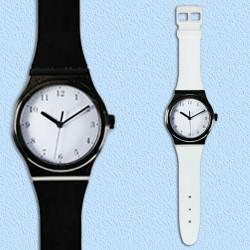 Reloj de Pared Diseño Watch Negro