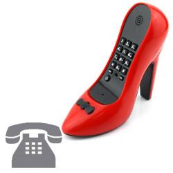 Teléfono Tacón High Heel Shoe Rojo