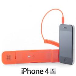 Auricular Antiradiación compatible con iPhone Blanco