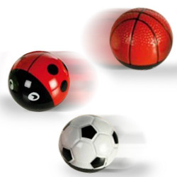 Bola de Metal Propulsada Ball and Bug Futbol Ball