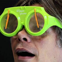Gafas con Parabrisas Wiper Glasses Naranja