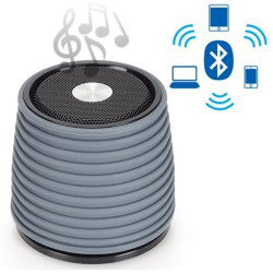 Altavoz Bluetooth Recargable AudioSonic Gris