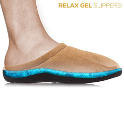Zapatillas Relax Gel Slippers Marrón M