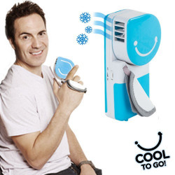 Aire Acondicionado Portátil Cool to Go! Azul