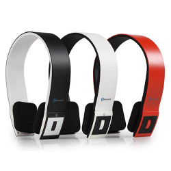 Auriculares Bluetooth AudioSonic HP1642 Rojo