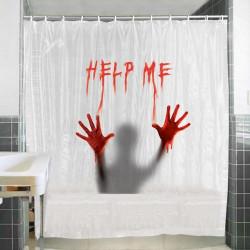 Cortina de Baño Help Me