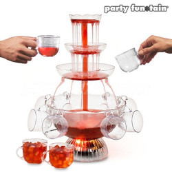 Fuente de Cocktail Iluminada Party Fun Tain
