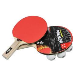 Set de Ping Pong (2 Palas + 3 Pelotas + Estuche)
