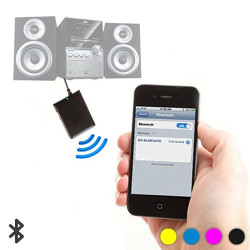 Adaptador Bluetooth de Audio Rosa