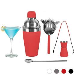 Set de Coctelería Profesional (5 piezas) Rojo