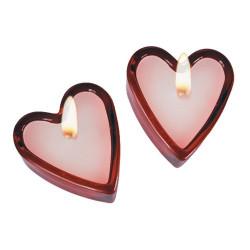 Velas Perfumadas Corazón (set de 2)