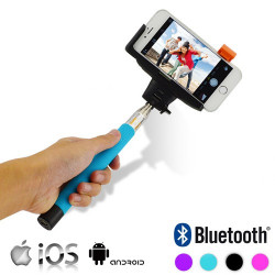 Monopié Bluetooth para Móviles Negro