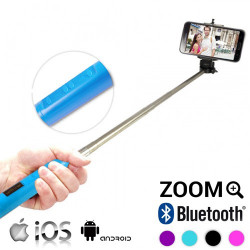 Monopié Bluetooth con Zoom para Selfies Blanco