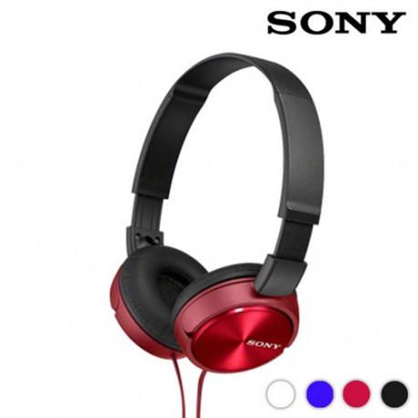 Auriculares Acolchados Sony MDRZX310 Rojo