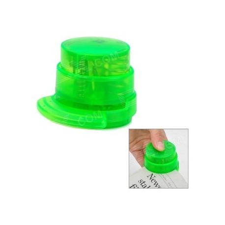 Grapadora de papel sin grapas