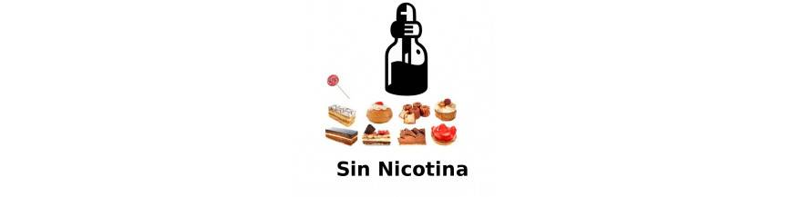 SIN NICOTINA DULCES
