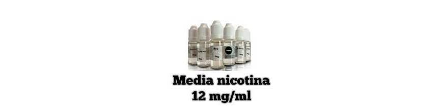LIQUIDOS CON NICOTINA MEDIA